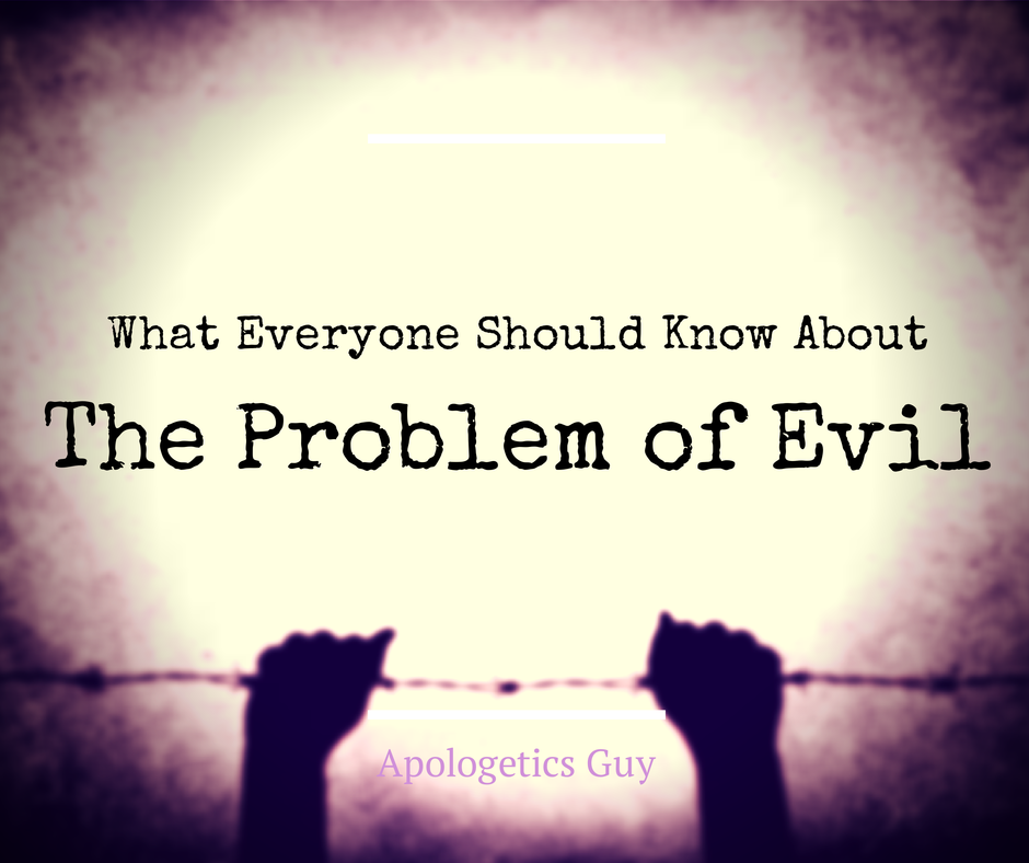 the problem with evil In luke 13:1–5, we have jesus' clearest teaching on the problem of evil:[1] now there were some present at that time who told jesus about the galileans whose.
